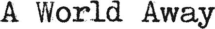 A World Away logo