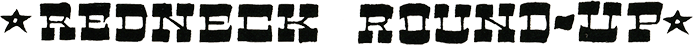 Redneck Roundup logo