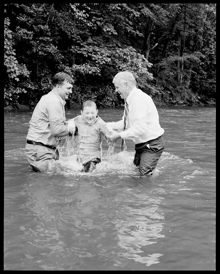 BAPTISM - A Testimony of Serpent Handling - Hunter Barnes Photography