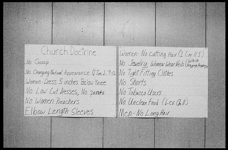 CHURCH DOCTRINE - A Testimony of Serpent Handling - Hunter Barnes Photography
