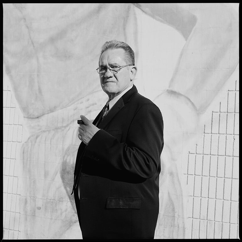 Dave Moretti / Professional Boxing Judge - Off The Strip - Hunter Barnes Photography