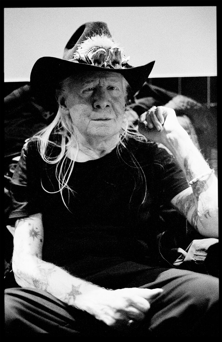 Johnny Winter - Portraits - Hunter Barnes Photography