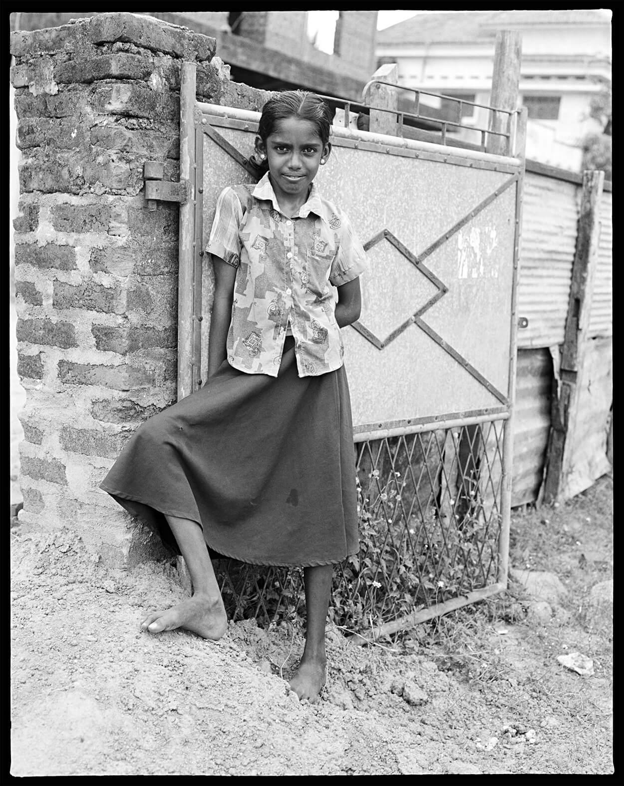 TAMIL GIRL - A World Away - Hunter Barnes Photography