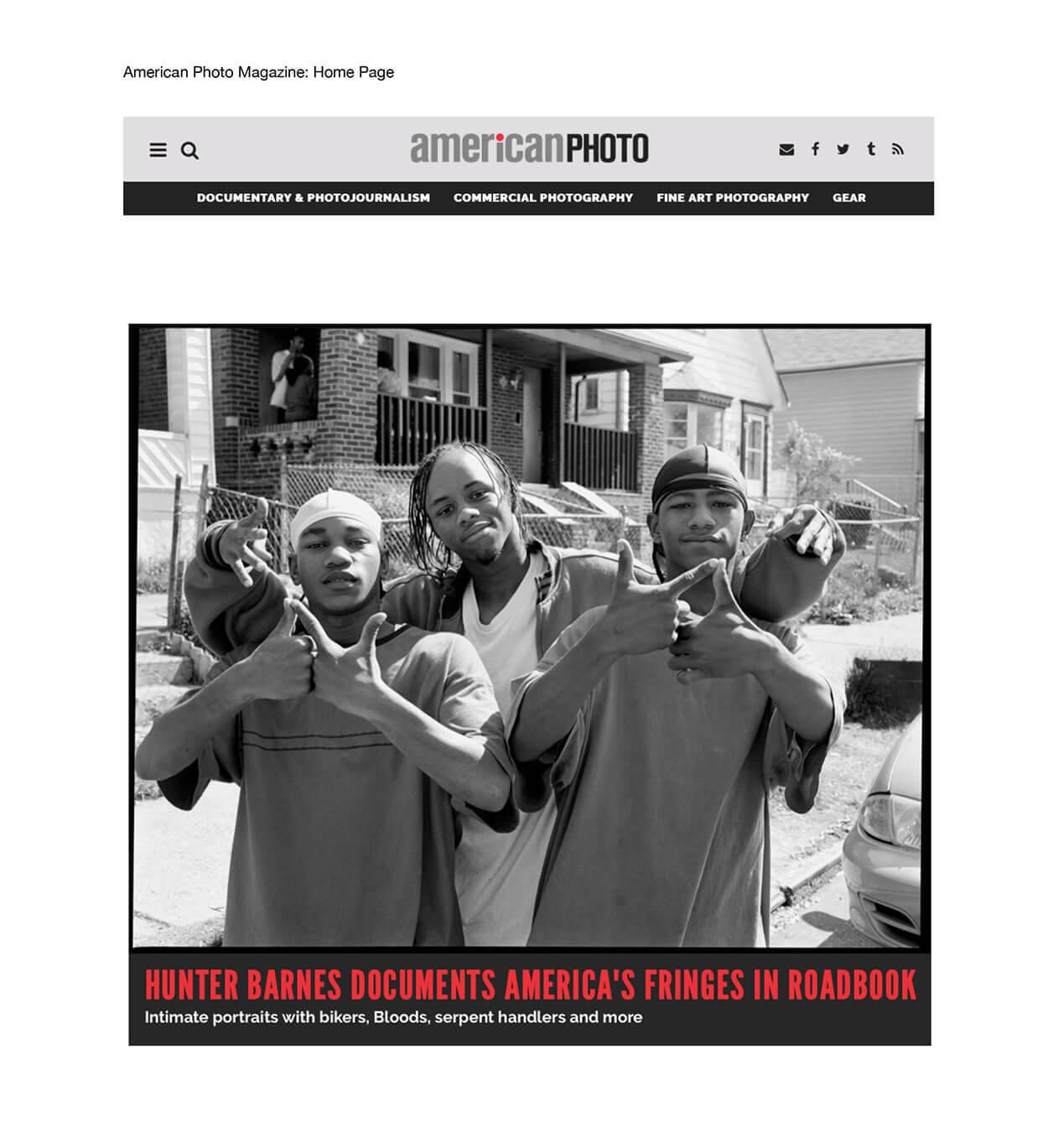 Hunter Barnes documents America's fringe communities in Roadbook - American Photo - Page 1