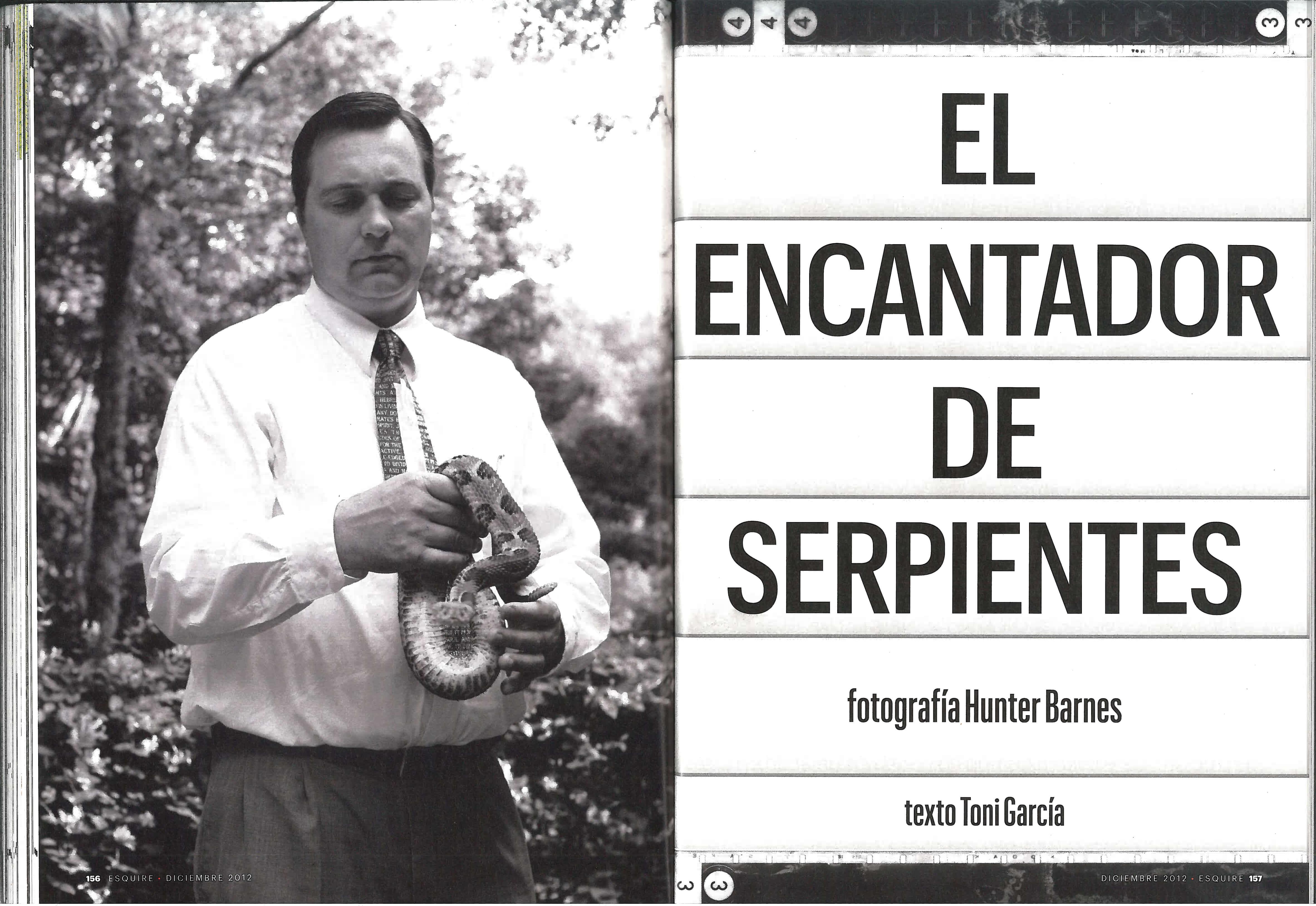 El encantador de serpientes - Esquire Spain - Page 2