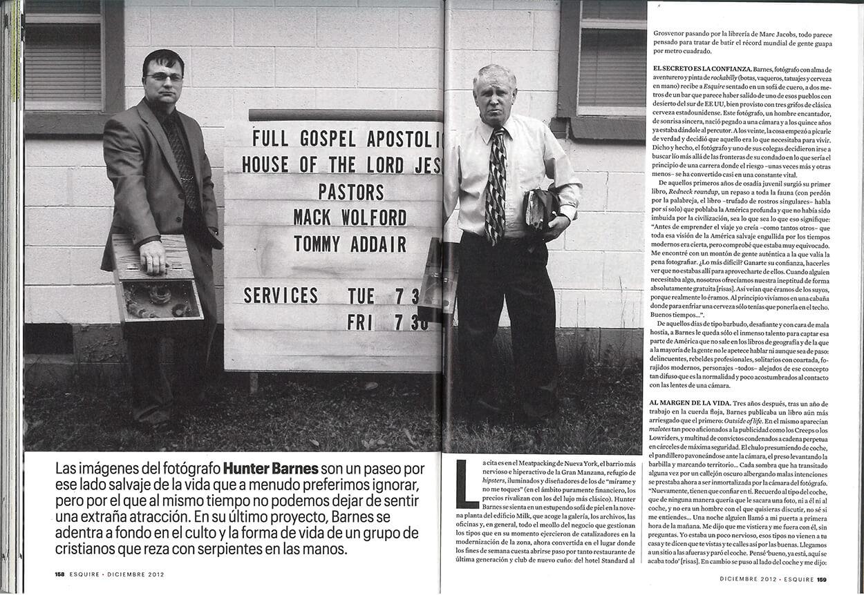 El encantador de serpientes - Esquire Spain - Page 3
