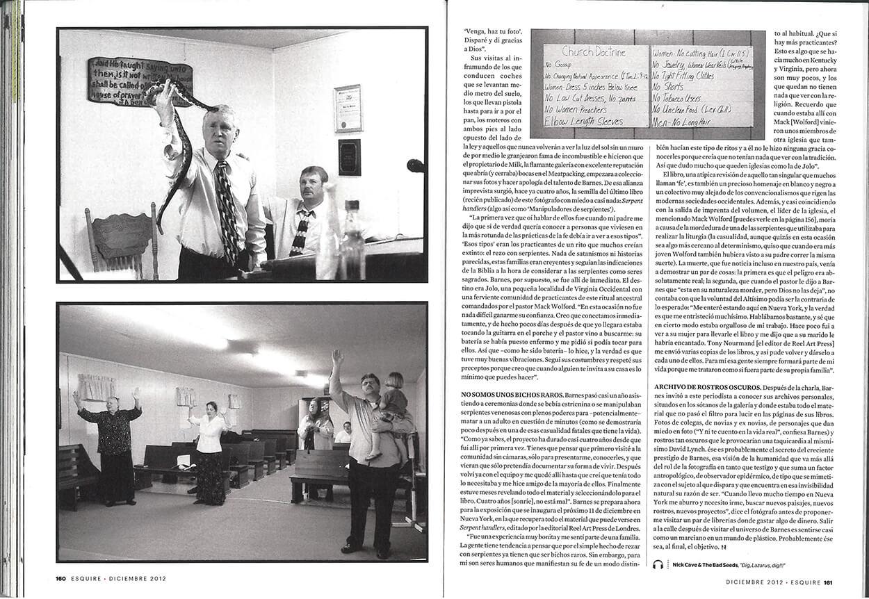 El encantador de serpientes - Esquire Spain - Page 4